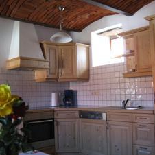 Fewo Rot Küche